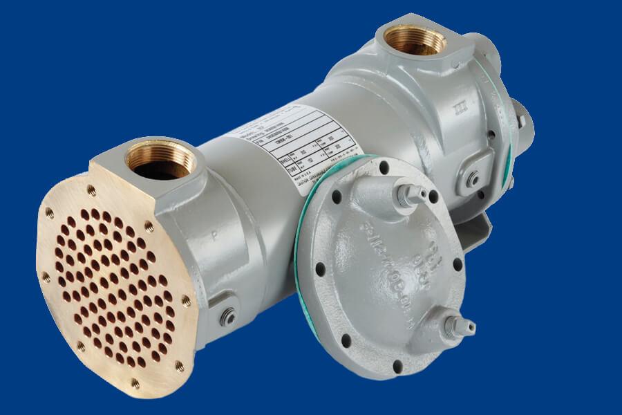 BCF / HCF / SSCF Heat Exchanger Dark Blue